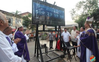 Archdiocese of Cebu launches 500-day countdown