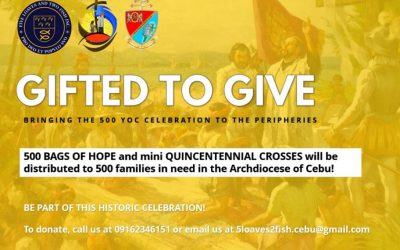 Bags of Hope for the 500 YOC in Cebu